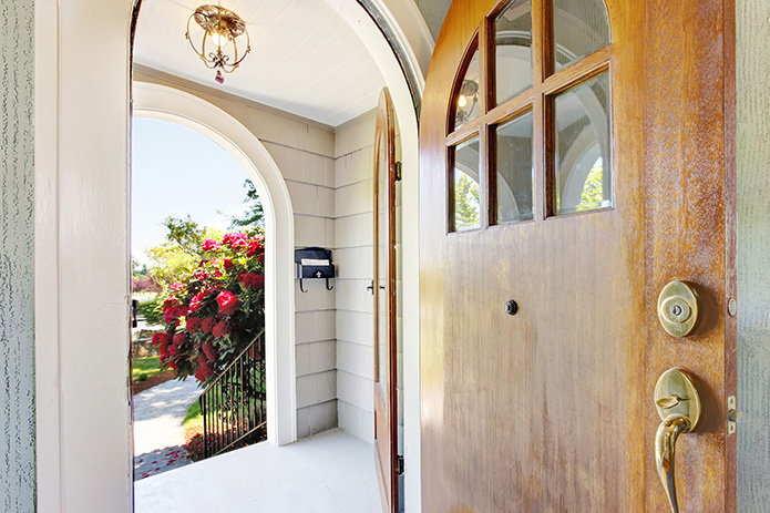 Steel vs Wood Front Doors for Your Home | Mobile Locksmith MI