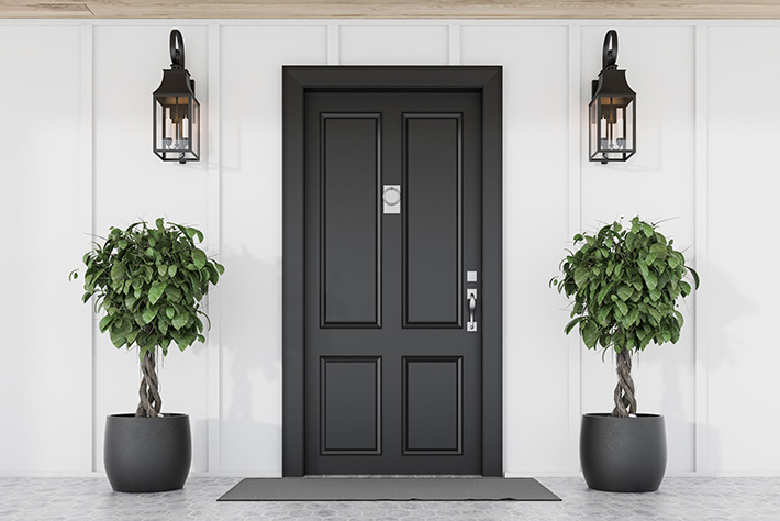 The Right Entry Door and Hardware Can Enhance Curb Appeal – MI Locksmith